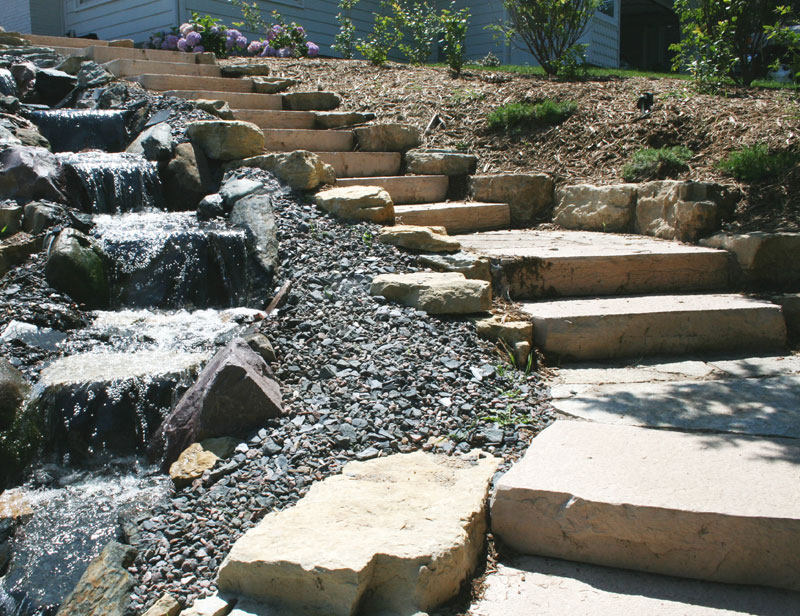 RockSteps | Lightweight Stone Steps Stairs | Landscape Design Supplies Solutions